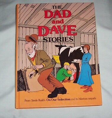 DAD AND DAVE Stories. From Steele Rudds Hilarious Sequels Annual Book.