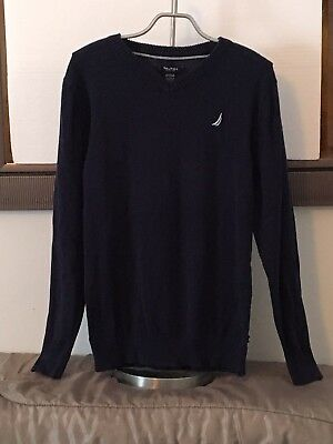 Nautica Boys V Neck Sweater Size 18-20