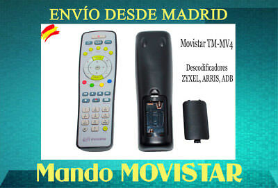 Mando para Descodificador ZYXEL, ARRIS, ADB    model: TM-MV4  NUEVO