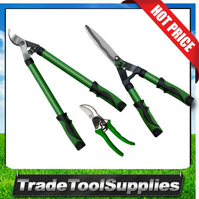 Gard&Grow Lopper Shears & Bypass Pruner 3 Piece Garden Care Pack 500108