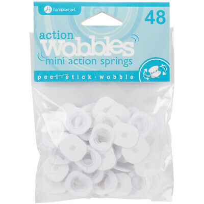 Hampton Art AWSM048 Action Mini Wobble Spring 48/Pkg-