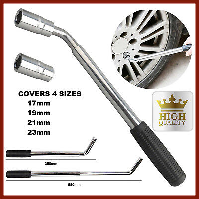 New 4 Way Extendable Telescopic Wheel Brace 17 19 21 23mm Tyre Nut Wrench Tool