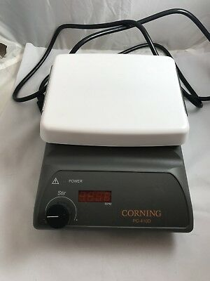 Corning PC-410D Stir Plate with Digital Display USED