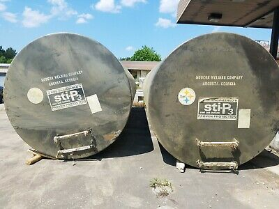 10,000 gallon bulk fuel storage tank, diesel,gas,water,septic. Good cond.