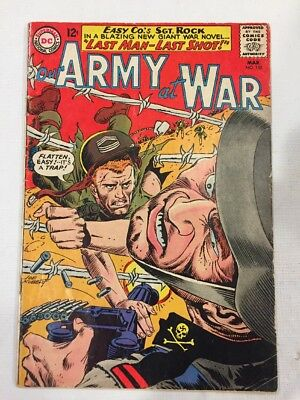 Our Army at War #152 (Mar 1965, DC) Very Good minus