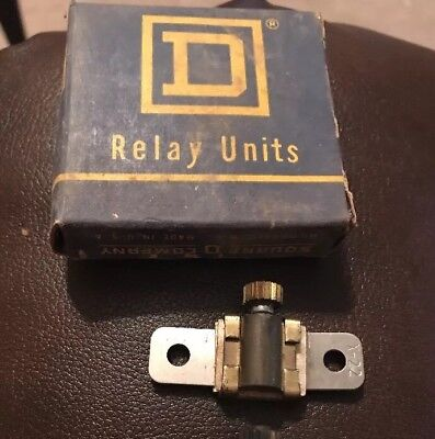 B17.5 Square D Overload Relay Thermal Unit