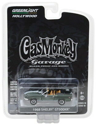 Greenlight Hollywood 19 Gas Monkey Garage 1968 Shelby GT500KR 1/64 Scale 44790D