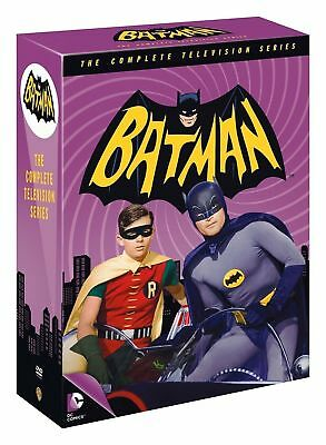 Batman: The Complete Television Series Boxset DVD, Television Series 1966 -1968