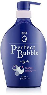 Shiseido SENKA Perfect bubble body wash 500ml From Japan