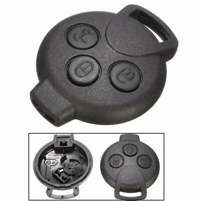3 Button Remote Key Fob Case Shell For Benz Smart Fortwo Cabrio Roadstar Coupe