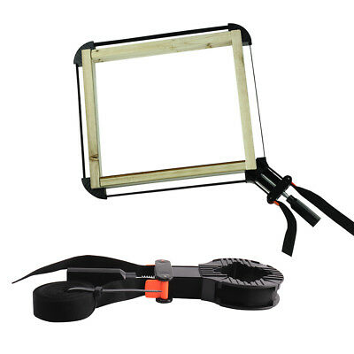 Picture Frame Woodworking Clamp Band Strap Ratchet Corner Miter Mitre Vise Tool