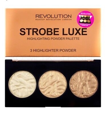 Makeup Revolution-Strobe Luxe Highlighter Palette⭐️