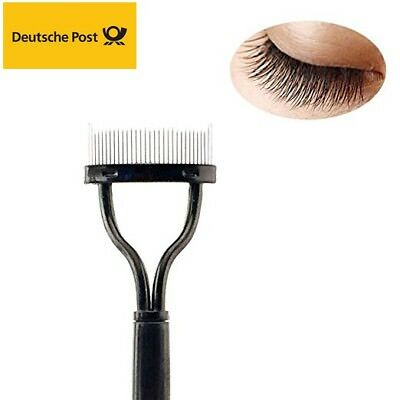 Damen Wimpernkamm Lash Separator Lift Curl Metallbürste Schönheit Make-up Tool
