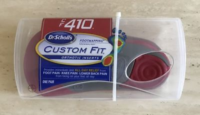 100% Authentic Dr Scholls CF410 Custom Fit Orthotic Inserts Shoe Insoles