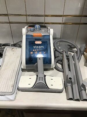 VAX S10 Utility Master Cylinder Steam Cleaner with Accessories