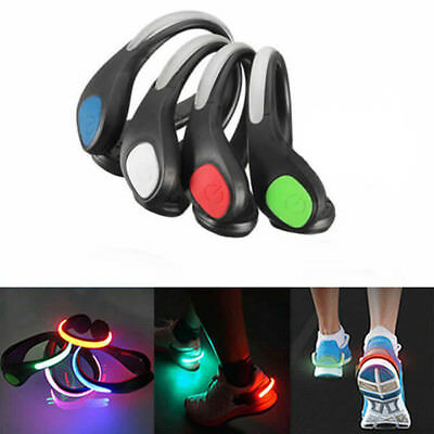 Running Cycling Sports Led Shoes Clip Safety Night Warning Light Lamp Nice