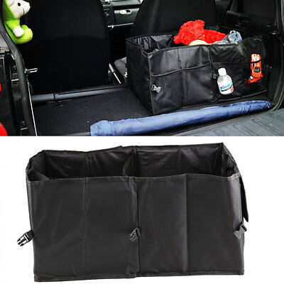 Travel Car Trunk Foldable Boot Organiser Collapsible Storage Holder Bag Tidy Box