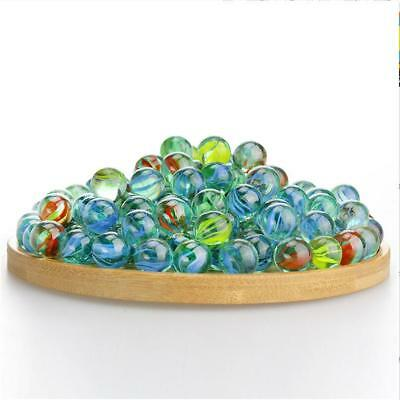 Wholesale Lot 14mm Glass Beads Marbles Kid Toy Fish Tank Decorate Free Shipping