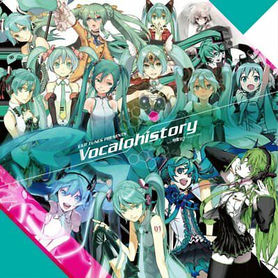 Exit Tunes Presents Vocalohistory Feat. Hatsune Miku CD ■Expedited free shipping