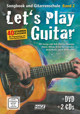 Edition Hage Let's Play Guitar Band 2 - mit DVD und 2 CD's