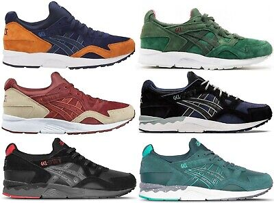 SCARPE SHOES ASICS ONITSUKA TIGER GEL LYTE V 5 100% LEATHER SUEDE SHUHE LIMITED