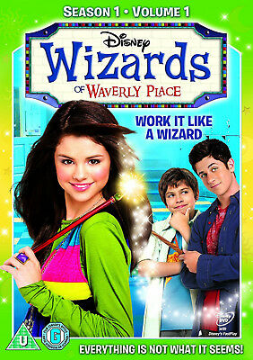 WIZARDS OF WAVERLY PLACE SERIES 1 VOL 1 DVD Selena Gomez UK Rele New Sealed R2