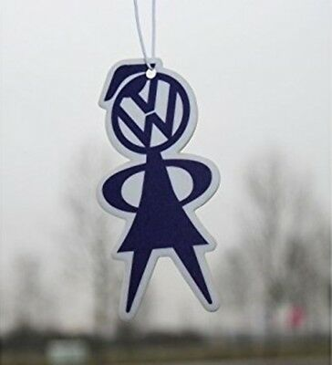 original Volkswagen Duftbaum ~ VW-Girl ~ Rose