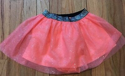 New!GIRLS SIZE 12 MONTHS PEACH COLOR SKIRT BY Cat And Jack WITH SHORTS ELASTIC