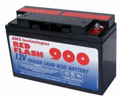 Red Flash 900 Batterie