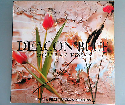 DEACON BLUE Ooh Las Vegas Doppel-LP VINYL 23 B-Sides, Tracks & Sessions CBS