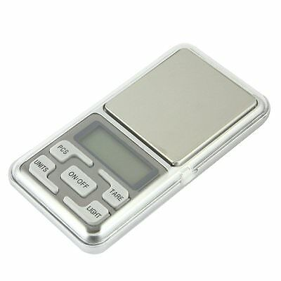POCKET SCALE METAL DIGITAL ELECTRONIC 0.01-0.1/500 Gr MICRO WEIGHT JEWELRY