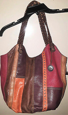 The Sax-Women's Shoulder Strap Hobo Purse-Multi-Color-Lots Of Room-Size-X-Large