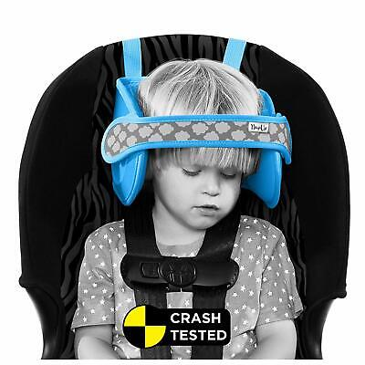 Napup Child Car Seat Head Support - Sleep Comfortably On The Go - Blue