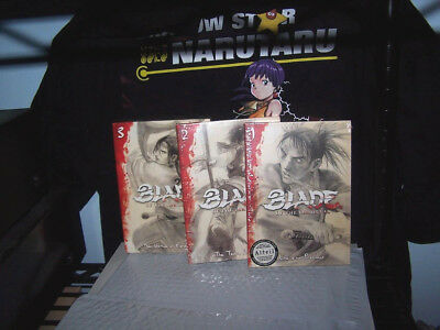 Blade of the Immortal - Vol 1,2,3 - Complete Collection - BRAND NEW - Anime DVD
