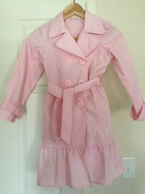 NWOT The Children's Place Girls Trench Coat Size 7/8 Perfect for Spring