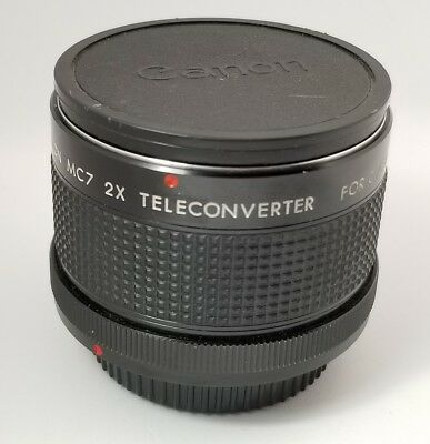 Canon Kiron MC7 2x Teleconverter Camera Lens for C/FD Made in Japan