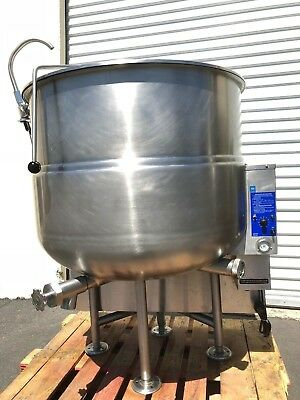 Cleveland Steam-Jacketed 80 Gallon Kettle in Natural Gas Model KGL-80