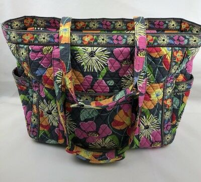 Get Carried Away Tote  JAZZY BLOOMS Luggage Travel Baby Vera Bradley Retired