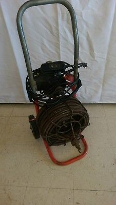 "General Sewer Rodder Snake 50' x 1/2"" Cable"