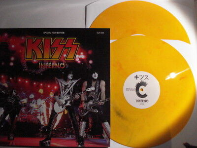 Kiss - Inferno - Gatefold Cover Lim. Orange Vinyl - 2-LP  #24663