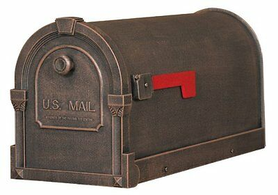 Mailbox Mail Box Aluminum Cast Mount Vintage New Letter Postal Home Rural Cooper
