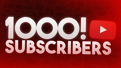 1000 Subscribers YT *Social Promotion*