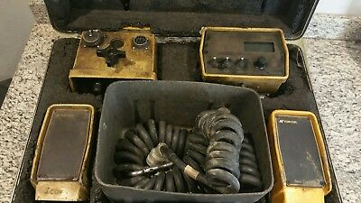 TOPCON 9142 SONIC TRACKER IIwith coil cables. gps. grade control System Four