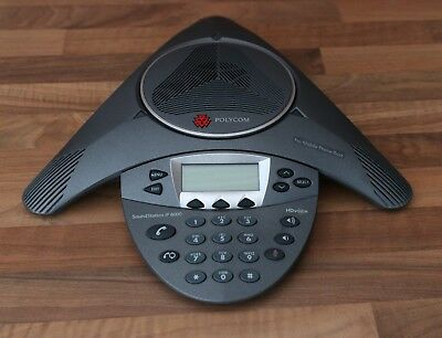 Polycom Soundstation IP 6000 SIP HD Conference Phone - Used