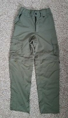 Boy Scouts Of America BSA Olive Green Switchback Uniform Pants Youth Size Medium