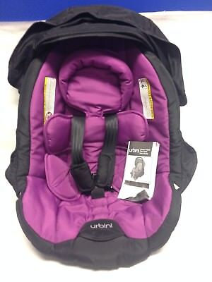 New URBINI Sonti Infant Car Seat Cushion W Hood Canopy User Guide