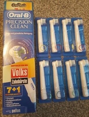 Braun Oral-B Precision Clean Electric Replacement Toothbrush Heads