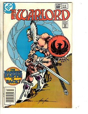 Lot Of 6 Warlord DC Comic Books # 67 74 80 82 124 + Annual 1 Mike Grell JG6