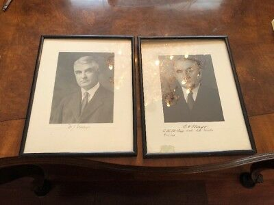 THE MAYO BROTHERS Mayo Clinic SIGNATURE SIGNED CHARLES H. MAYO, WILLIAM J. MAYO