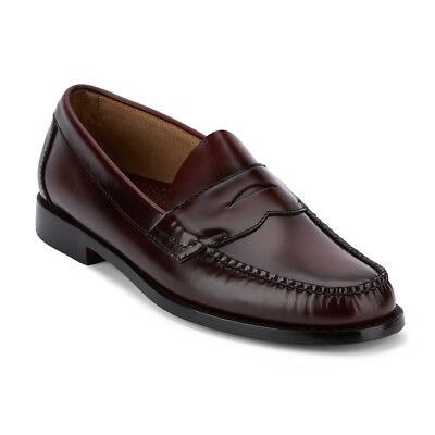 G.H. Bass & Co. Mens Weejuns Logan Genuine Leather Penny Slip-on Loafer Shoe